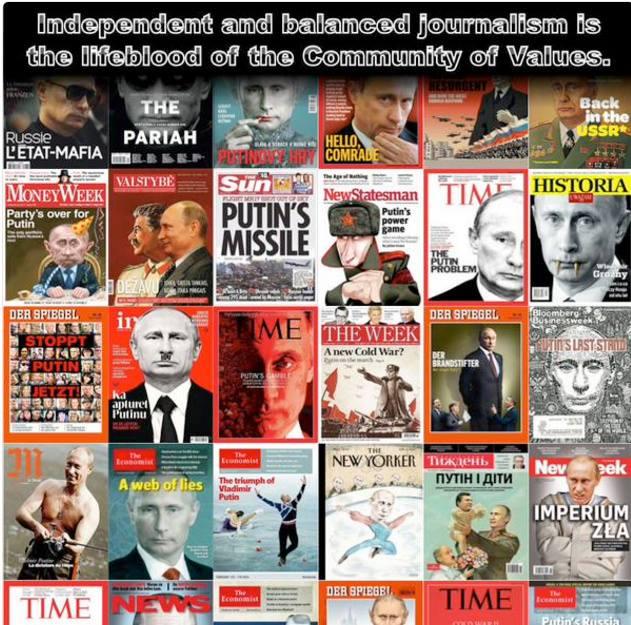 Putin covers