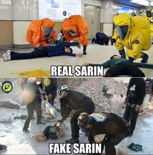 SARIN REAL FAKE